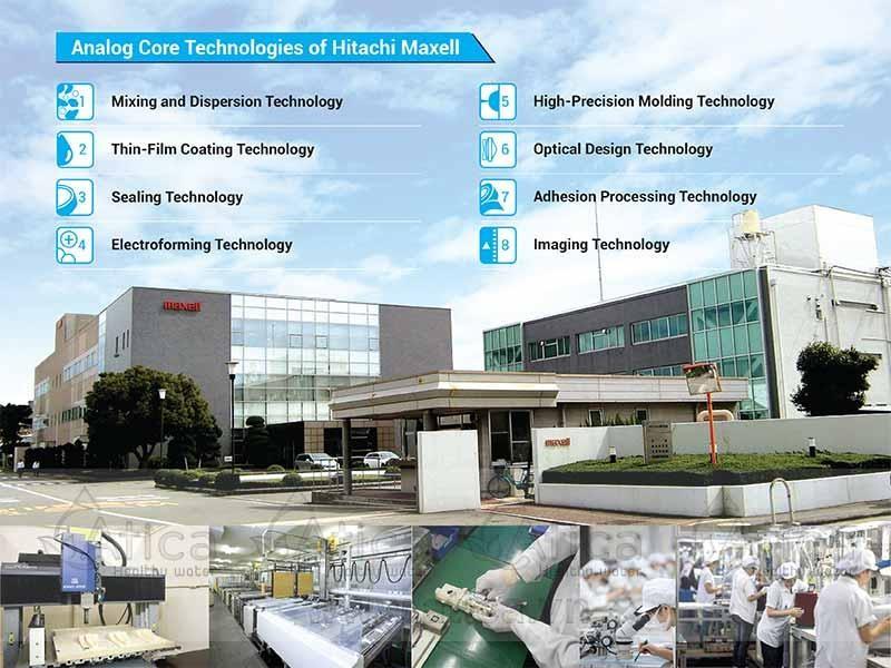 Nhà máy sản xuất máy tạo nước ion kiềm Atica bên Hitachi Maxel Nhật Bản